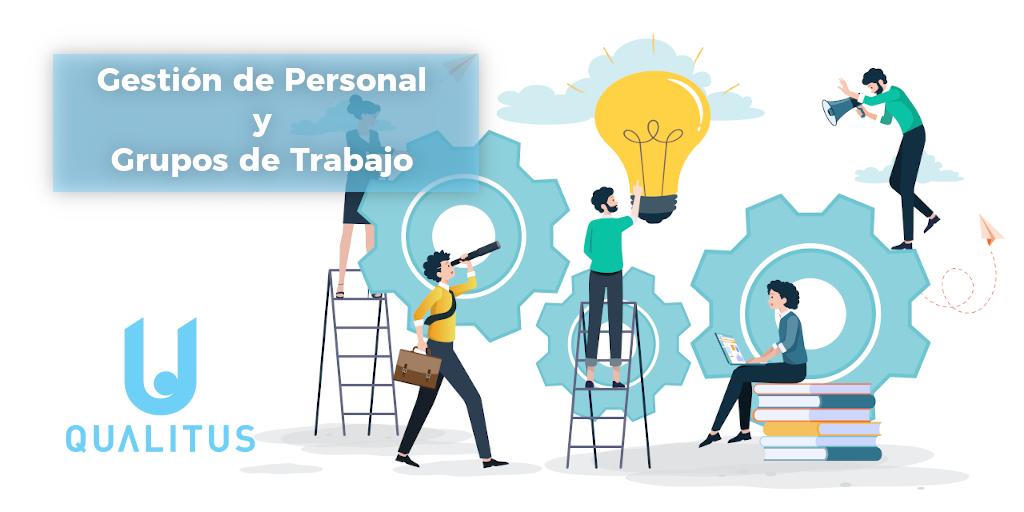 Gestión de personal y grupos de trabajo