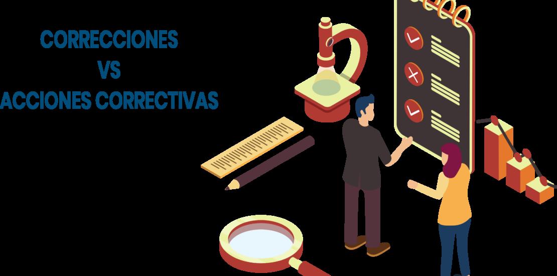 Correcciones VS Acciones correctivas